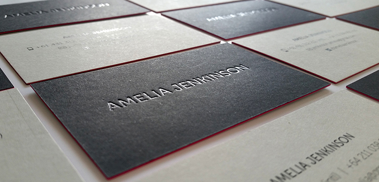 Sandwiched business cards new zealand duplexed layered cards gloss print colourmoves