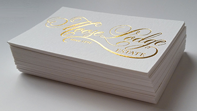 High end premium business cards new zealand made luxury foil is a beautiful print finish offering a high end look to all print work including business cards people will definitely want to hold on to these reheart