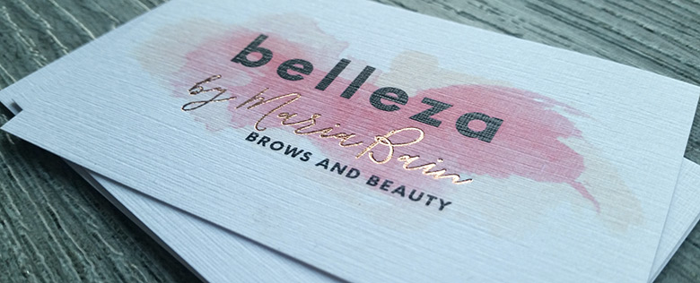 Foil printed business cards new zealand fancy high end busines blush foil auckland nz foiling silver reheart Gallery
